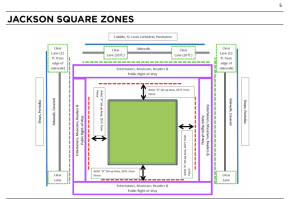 This is the overview of all of the zones in the Square as of October 2013