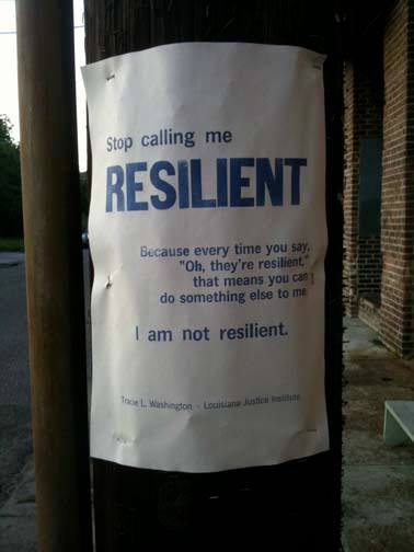 resilientposter
